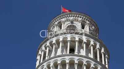Video footage clip leaning tower of pisa italy