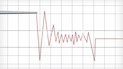 Video Footage Clip - 2D PolygraphPolygraph Lines