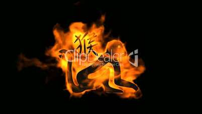 Chinese Character For Fire Clips Chinese Zodiac of Fire