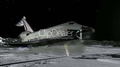 the first space shuttle to land on moon - photo #4