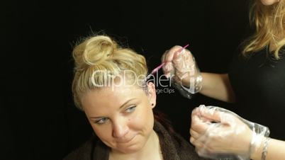 Professional Hairdresser : ... professional salon smiling studio stylist wellness white woman women