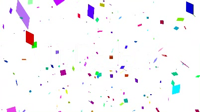 white confetti falling royaltyfree video and stock footage