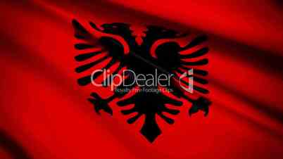 Albanian Flag Waving Albanian Flag Waving Clips Waving Flag Albania