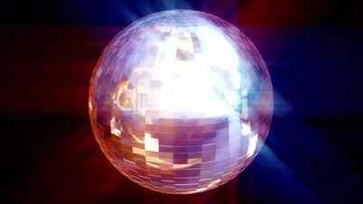 Video Footage Clip - HD animated Disco Ball
