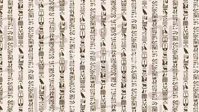 Hieroglyphics Royalty Free Video And Stock Footage